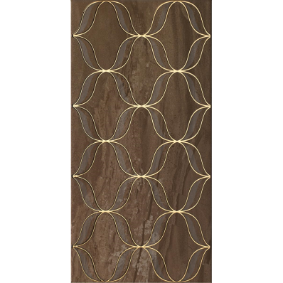 30x60 Ethereal M Brown Decor Glossy