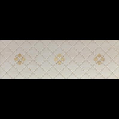 33x100 Provence White Decor Matt