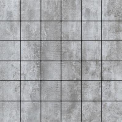 5x5 Metro Grey Mosaic R10
