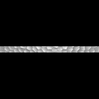 5X70 Opaline Border Grey Glossy