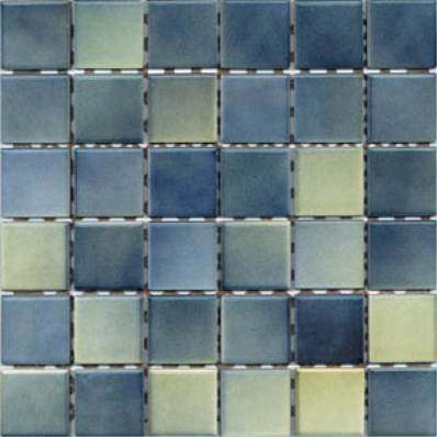 5x5 Colorline Tile Green - Blue Matt