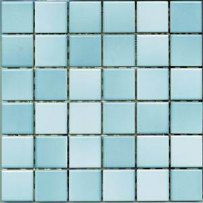 5x5 Colorline Tile Pool Blue Glossy