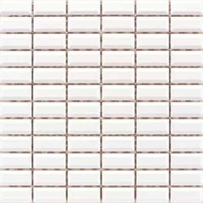 2.5x5 Metro Tiles White Mosaic -
