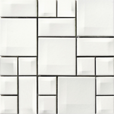 30x30 Day To Day Tile White Matt