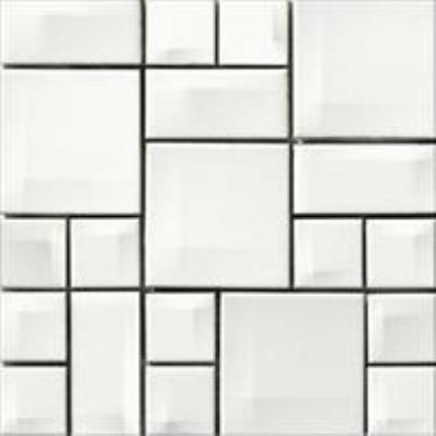 10x10 Day-to-Day White Mosaic Glossy