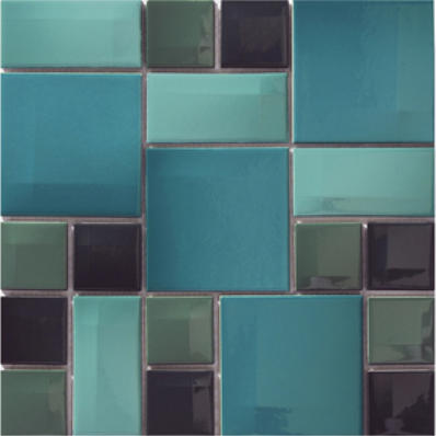 30x30 Day To Day Tile Aqua Blue Matt