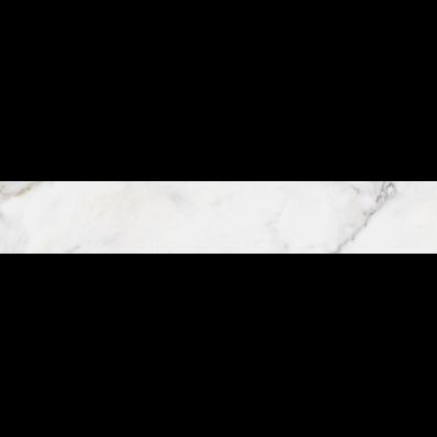 20X120 Calacatta Tile White Glossy