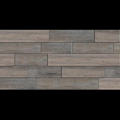 30X60 Woodmix Cut Decor Grey Matt