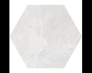 K944891R - 60X60 Tech-Slate Altıgen Dekor Beyaz