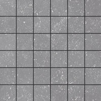 5x5 Urban Blue Border Dark Grey R10B