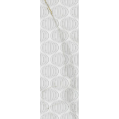 33X100W STATUA WAVE DEC WHITE GLS REC