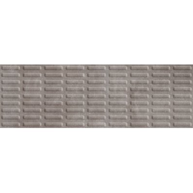 33x100 Studio-Plate Cement Gray Decor Matt