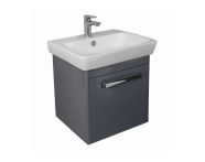 UML60DE1D - M-Line Washbasin Unit, 60 cm, Dark Elm